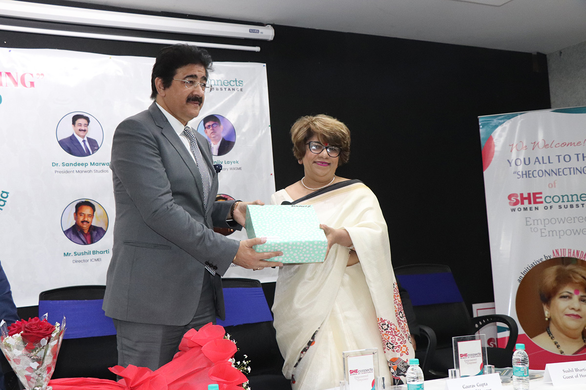 Sandeep Marwah SHEconnects