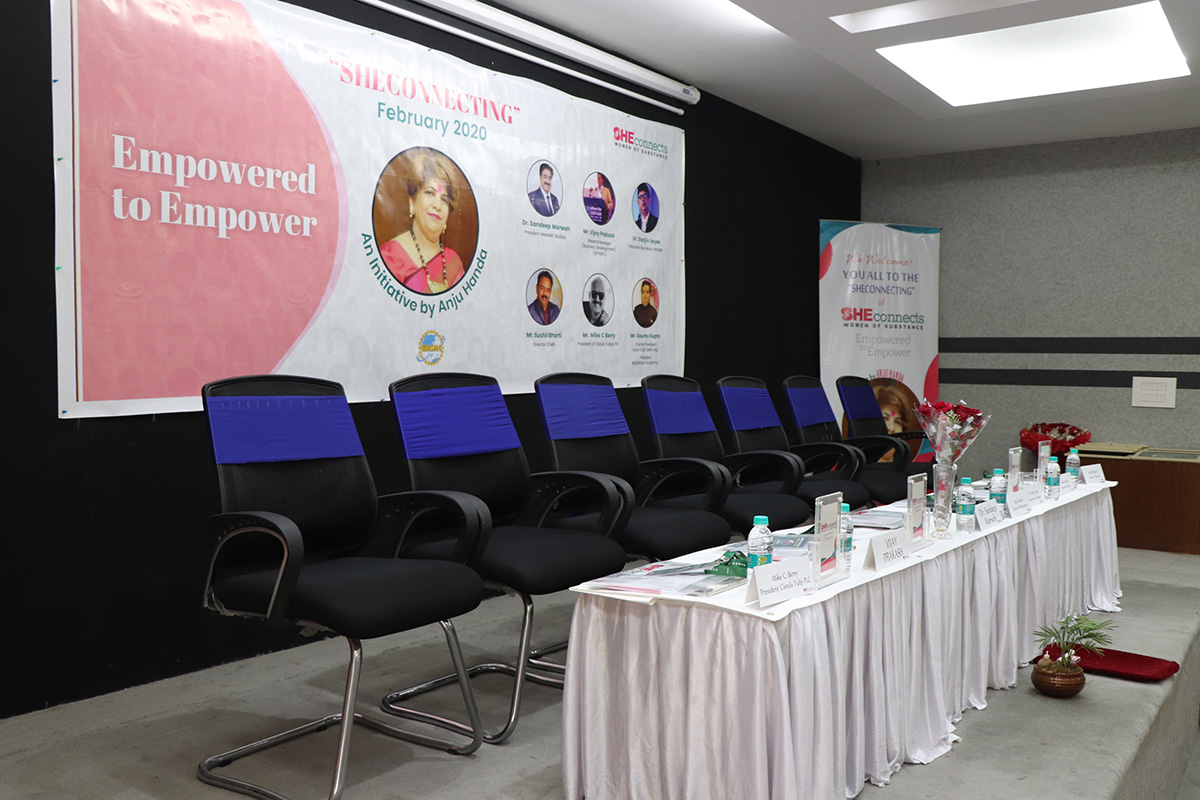 SHEconnects Event Noida